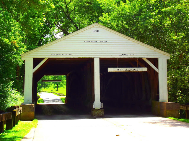 Ramp Covered Bridge - Brown County State Park