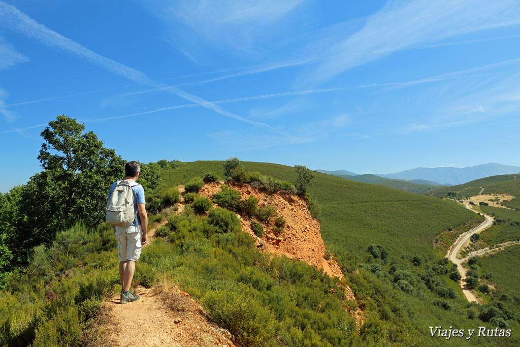 Caminos por Las Médulas, León