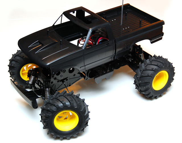 Tamiya Blackfoot Xtreme body