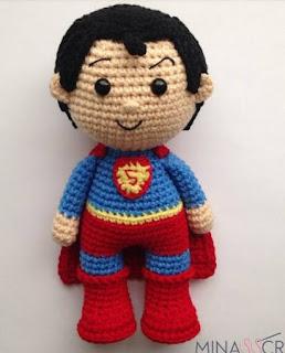 PATRON GRATIS SUPERMAN AMIGURUMI 37925