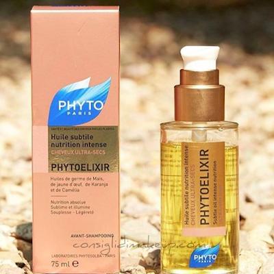 Phyto Elixir, l'olio che salva i capelli secchi