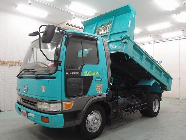 Subaru Diesel Usa >> 19597A6N7 1998 Hino Ranger 3.35ton Dump high deck truck ...