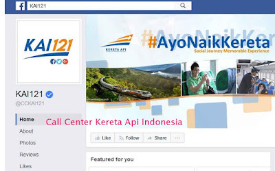 Call Center PT Kereta Api Indonesia