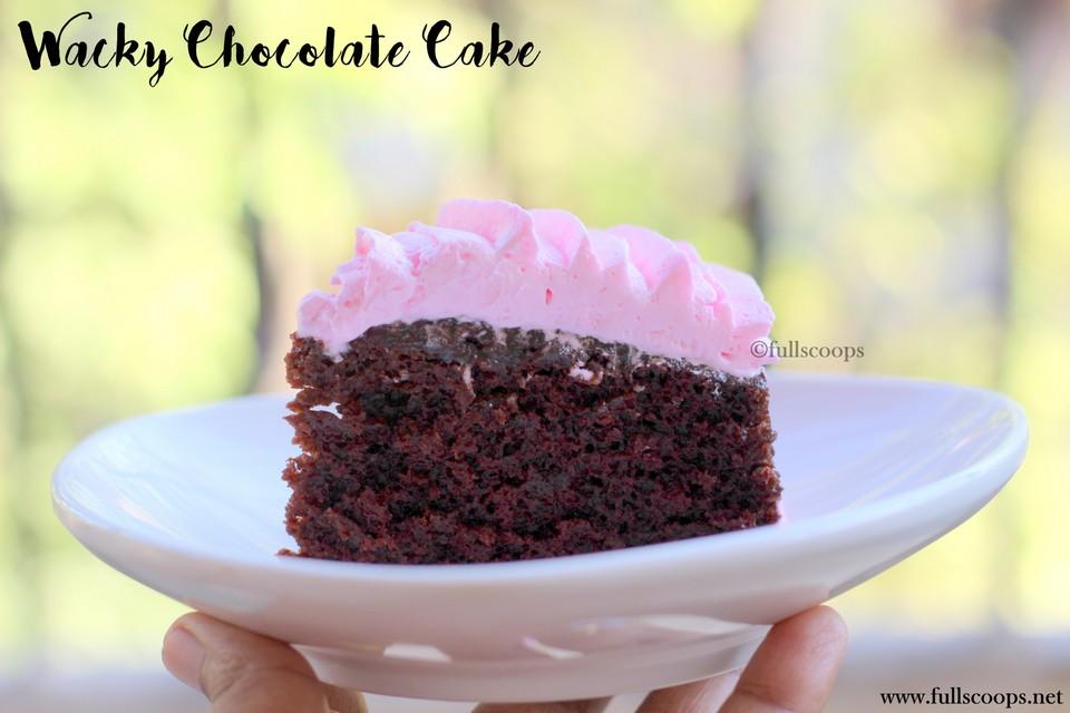 Wacky Cake Recipe X