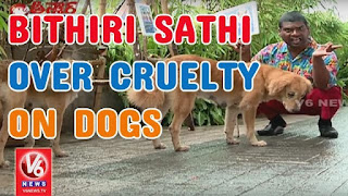 Bittiri Satti Over Cruelty On Dogs    Funny Conversation With Savitri