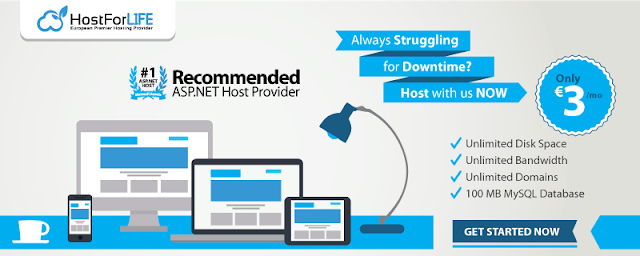 HostForLIFE.eu is Microsoft No #1 Recommended Windows and ASP.NET Hosting in European Continent