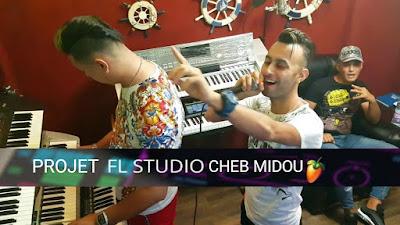 Telecharger projet Cheb Midou avec hicham smati Jibouli Lkbida FL Studio Rai