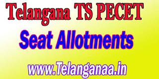 Telangana TS PECET Seat Allotments Dates TSPECET 2017 Seat Allotments