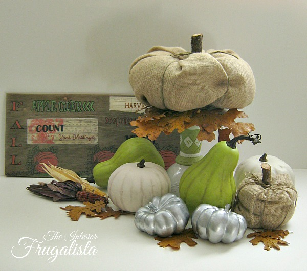 Budget Friendly DIY Fall Pumpkin Patch