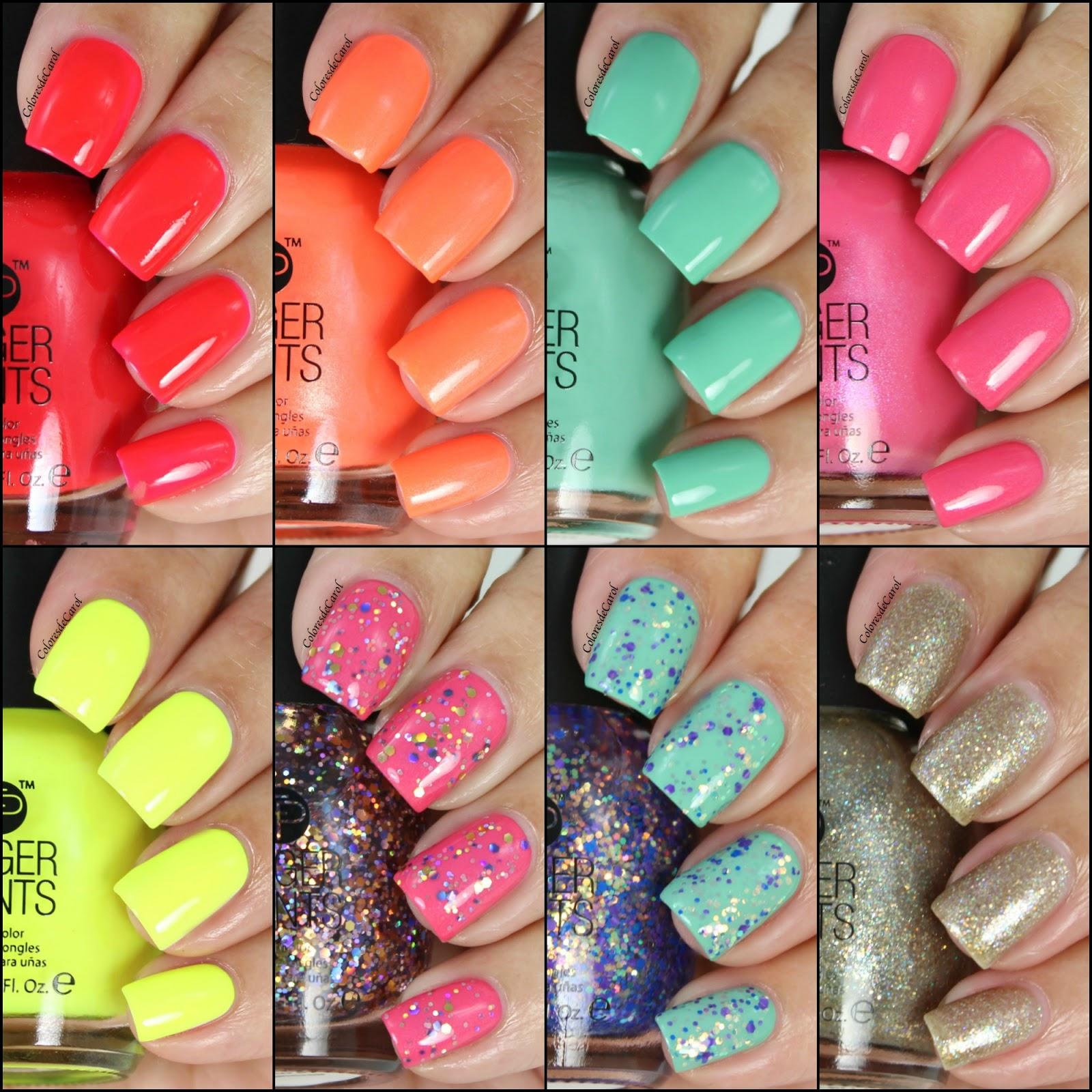 Finger Paints, New Shades | Colores de Carol | Bloglovin\'