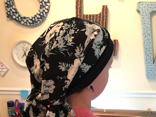 Easy Chemo Cap Head-Scarf