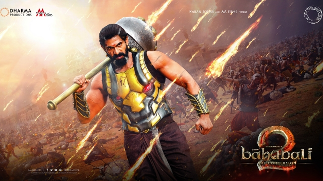 Rana Daggubati First Look of King Bhallaladeva in Baahubali 2