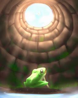 Ý nghĩa thành ngữ ếch ngồi đáy giếng có nghĩa là gì?