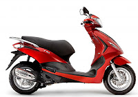 piaggio 350 scooter