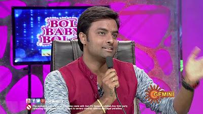 Bol Baby Bol-Geetham-Sangeetham, Gemini TV