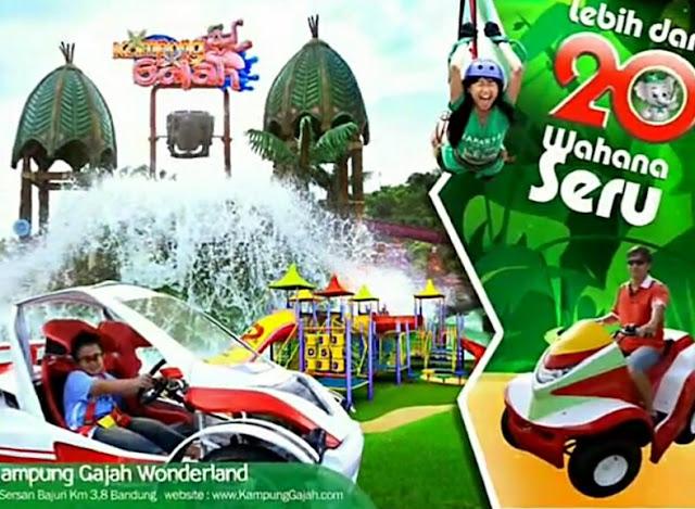 Informasi Wisata Kampung Gajah Bandung
