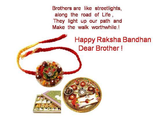 Happy Rakhi To Brother