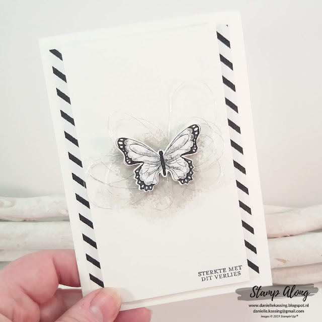 Stampin' Up! Botanical Butterfly DSP