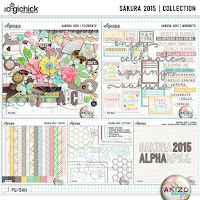 kit : Sakura 2015 by Akizo Designs