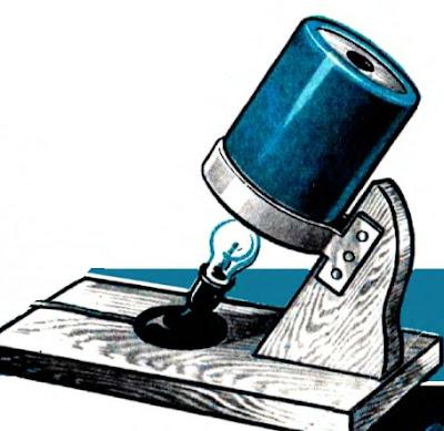 Калейдоскоп на подставке