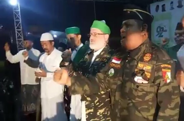 Makin Mendunia, Cucu Syekh Abdul Qadir Jailani Bangga dengan Banser dan NU