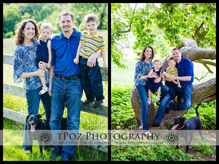 Cromwell Valley Family Portrait