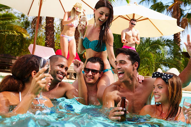 The VegasDaze Pool Survival Guide is your key to navigating the Vegas pool scene.