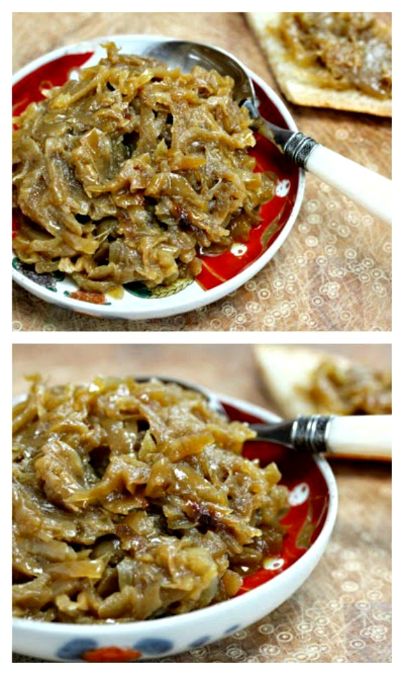 How to Make Caramelized Onions in the Slow Cooker from The Perfect Pantry [found on SlowCookerFromScratch.com]