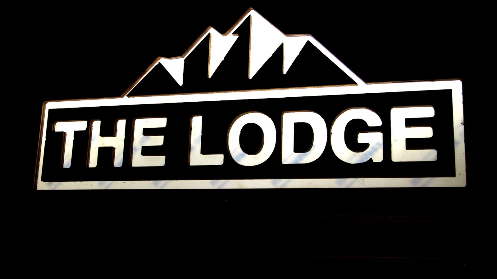 Lodge Clapham sign