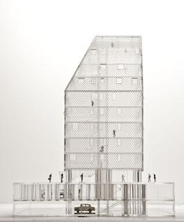 Edificio de vivienda social . Madrid