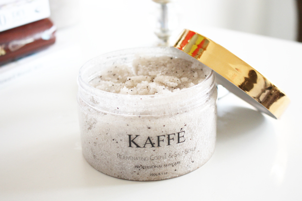 kaffe rejuvenating coffee and salt scrub review