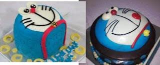 Kue Tart Doraemon