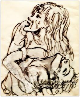 Antonio Berni - Tinta e têmpera, 1970
