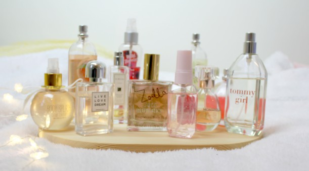 Fragrance Shelfie - a little snapshot of all my fragrances and why I love each of them