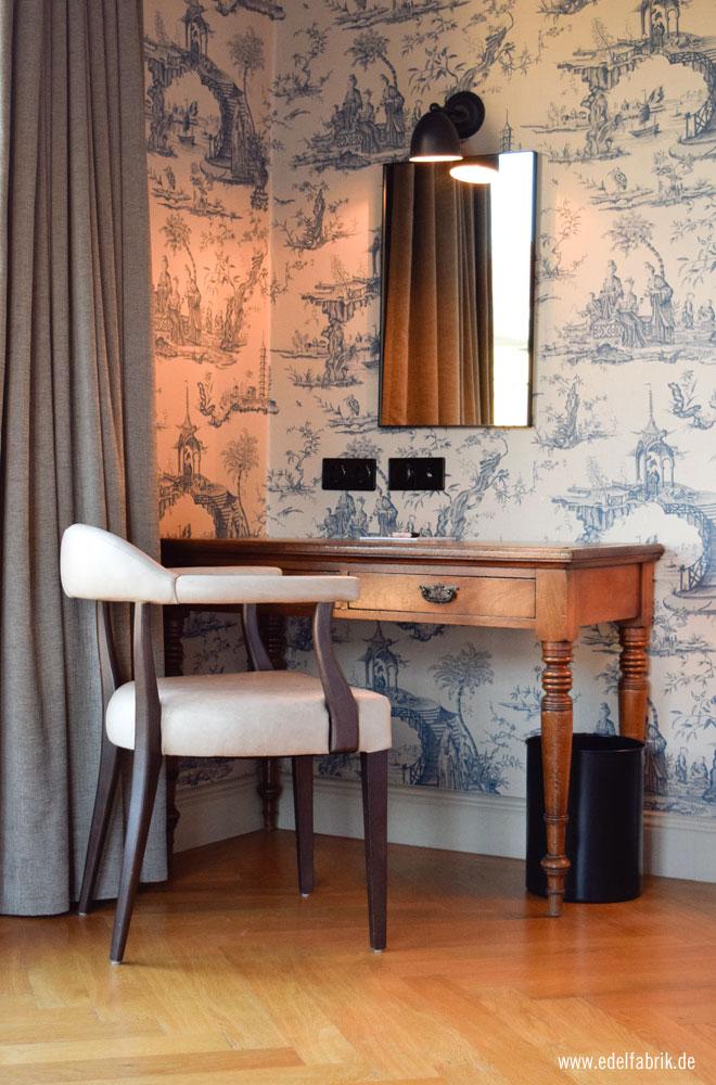 schön eingerichtete Zimmer im Monbijou Hotel in Berlin
