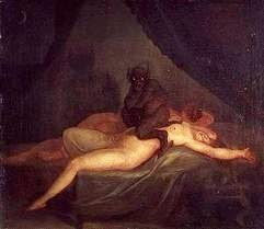 Demons having sex with humans