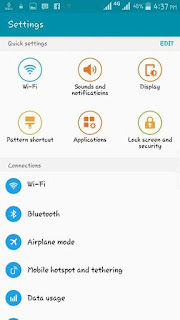 Samsung S6 Screenshots