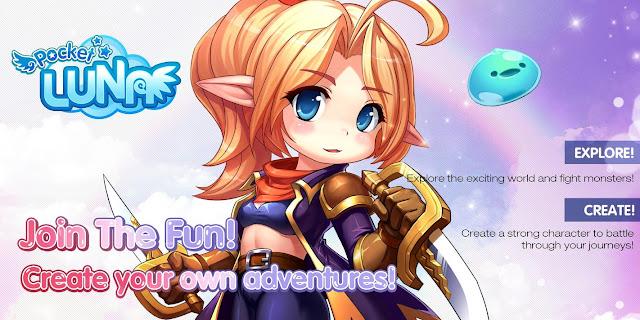 Pocket Luna - Luna Online Mobile Version out Today