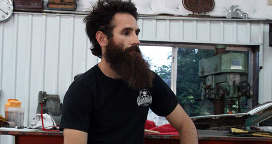 Aaron Kaufman de Gas Monkey Garage.