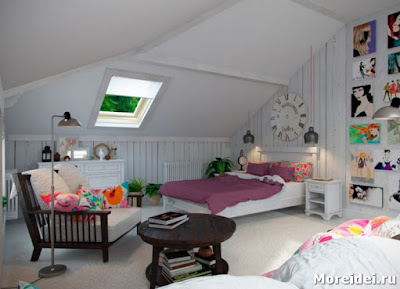 Design a child's room in the attic - How to equip a child 's room ?