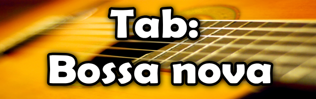 Bossa nova para Guitarra