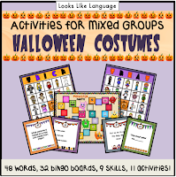 Check out all of the activities included in Halloween Costume Activities!