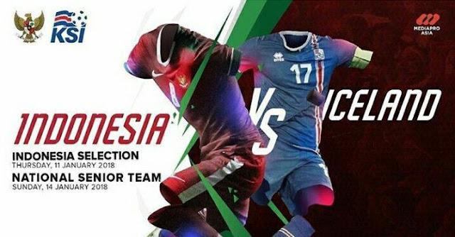 Daftar  24 Pemain Timnas Indonesia vs Islandia