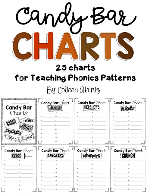 https://www.teacherspayteachers.com/Product/Candy-Bar-Phonics-Charts-482436