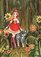 rotkäppchen red riding hood steampunk