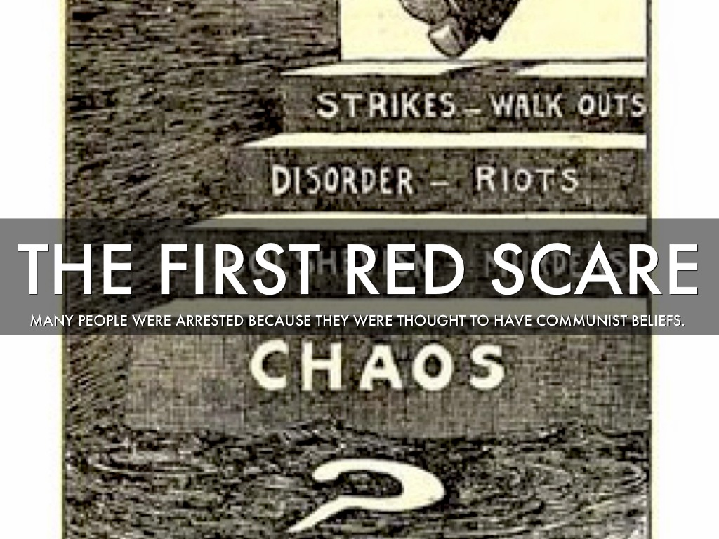 the red scare in the 1920s Find out more about the history of red scare, including videos, interesting articles, pictures, historical features and more get all the facts on historycom.