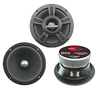 Lanzar 500 Watt High Power Midbass Speaker