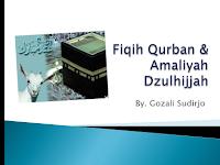 Amalan Dzulhijjah dan Fiqih Qurban  | Download PowerPoint