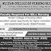 Multan College Of Nursing Multan Jobs