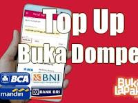 Cara terbaru Top Up Saldo Buka Dompet di Bukalapak.com